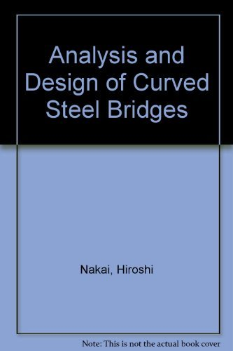 9780070458666: Analysis and Design of Curved Steel Bridges