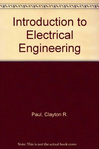 9780070458789: Introduction to Electrical Engineering (McGraw-Hill series in electrical engineering)