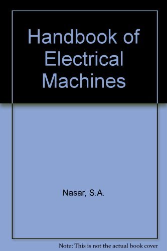 9780070458888: Handbook of Electric Machines
