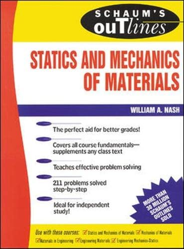 9780070458963: Schaum's Outline Of Statics and Mechanics of Materials