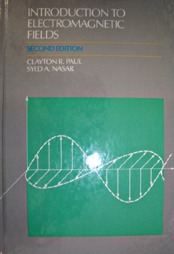 9780070459083: Introduction to Electromagnetic Fields (MCGRAW HILL SERIES IN ELECTRICAL AND COMPUTER ENGINEERING)