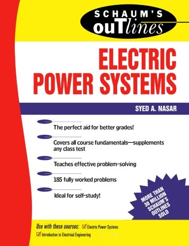 9780070459175: Schaum's Outline of Electrical Power Systems