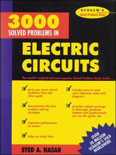 9780070459366: 3,000 Solved Problems in Electrical Circuits