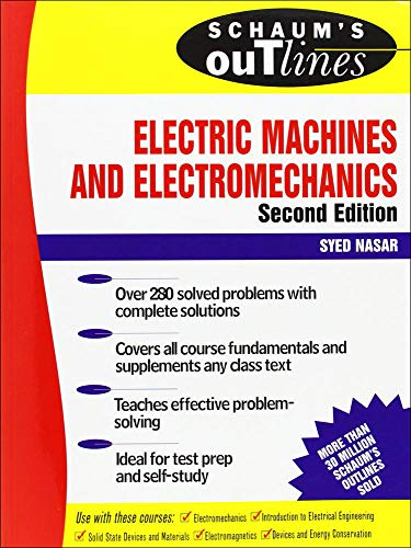 9780070459946: Schaum's Outline of Electric Machines & Electromechanics (Schaum's Outline Series)