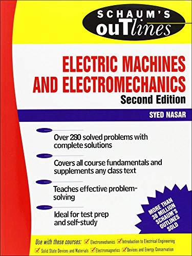 9780070459946: Schaum's Outline of Electric Machines & Electromechanics