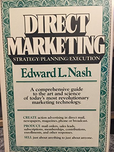9780070460195: Direct Marketing: Strategy, Planning, Execution