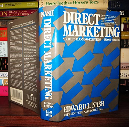 9780070460249: Direct Marketing: Strategy- Planning- Execution