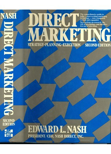 9780070460249: Direct marketing: Strategy, planning, execution