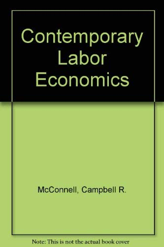 9780070460409: Contemporary Labor Economics