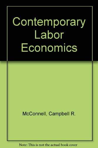 9780070460409: Contemporary Labor Economics