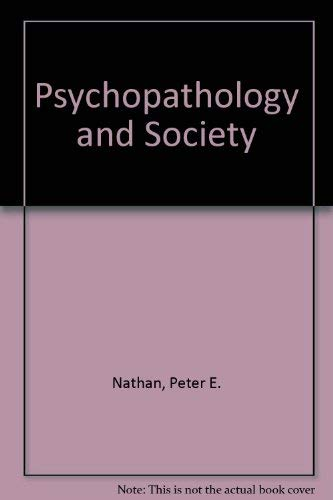 9780070460461: Psychopathology and society