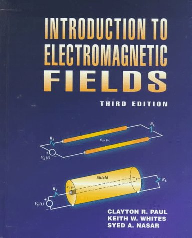 9780070460836: Introduction to Electromagnetic Fields (Mcgraw-Hill Series in Electricial and Computer Engineering. Electromagnetics)