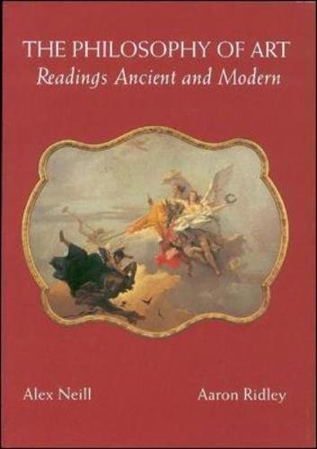9780070461925: The Philosophy of Art: Readings Ancient and Modern