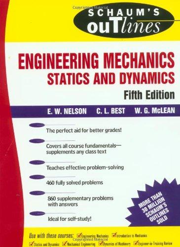 9780070461932: Schaum's Outline of Engineering Mechanics (Schaum's Outline Series)