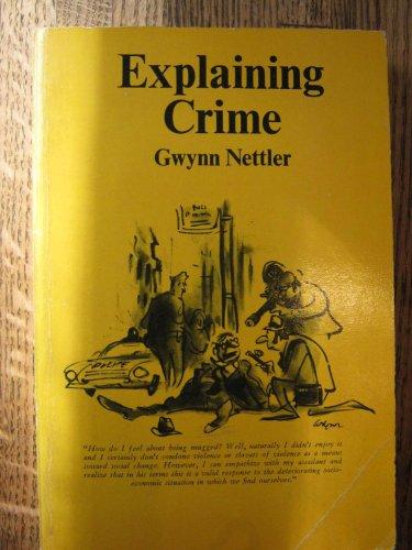 9780070462977: Explaining Crime