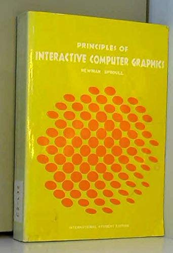 9780070463370: Principles of interactive computer graphics (McGraw-Hill computer science series)