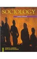 9780070463943: Sociology: A Critical Approach