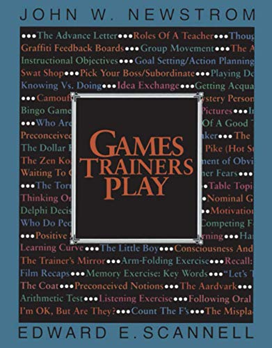 9780070464087: Games Trainers Play: Experimental Learning Exercises (McGraw-Hill Training Series)