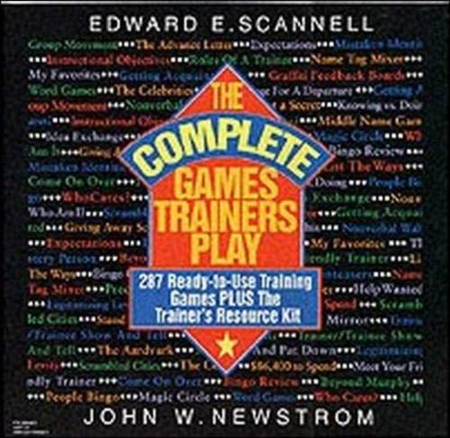 9780070464322: The Complete Games Trainers Play: 287 Ready-to-Use Training Games Plus The Trainer's Resource Kit