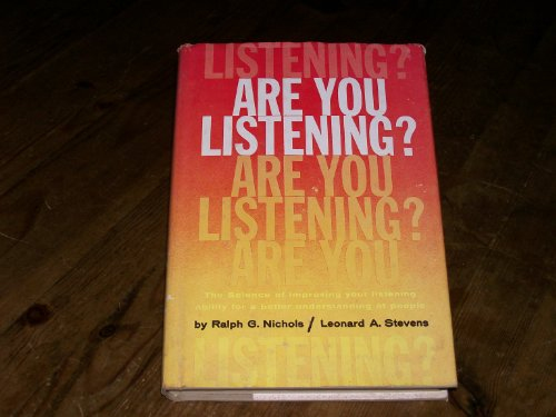 9780070464759: Are You Listening?