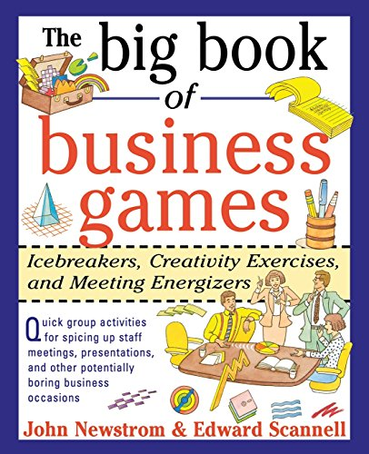 9780070464766: The Big Book of Business Games: Icebreakers, Creativity Exercises and Meeting Energizers (Big Book Series)