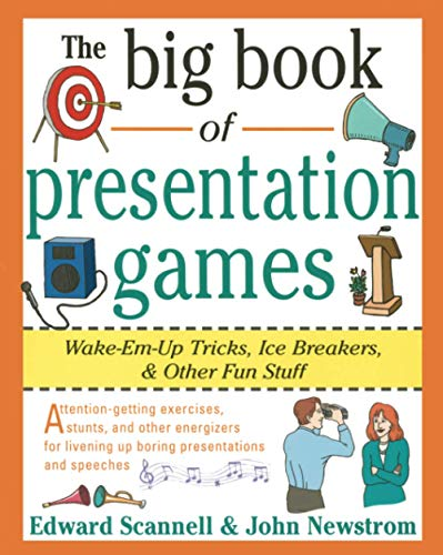 9780070465015: The Big Book of Presentation Games: Wake-Em-Up Tricks, Icebreakers, and Other Fun Stuff