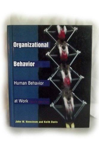 9780070465046: Organizational Behavior: Human Behavior at Work