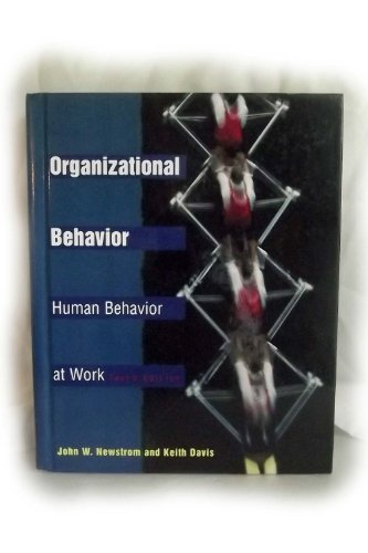 9780070465046: Organizational Behavior: Human Behavior at Work