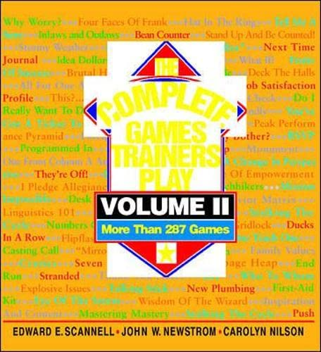 9780070466074: The Complete Games Trainers Play, Volume II