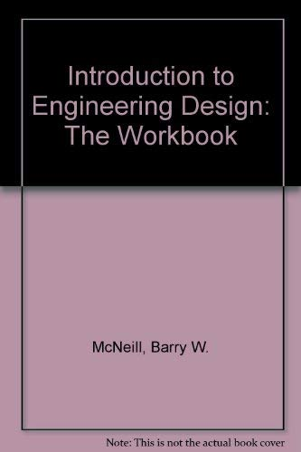 9780070466258: Introduction to Engineering Design: The Workbook