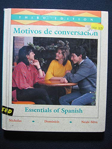 9780070467088: Motivos De Conversacion: Essentials of Spanish