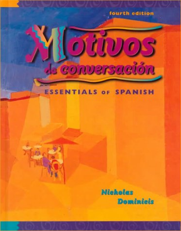 9780070470880: Motivos de conversacion: Essentials of Spanish