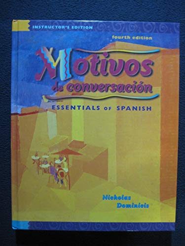 9780070470897: Motivos De Conversacion: Essentials of Spanish