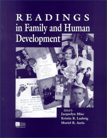 9780070471085: Readings in Family and Human Development