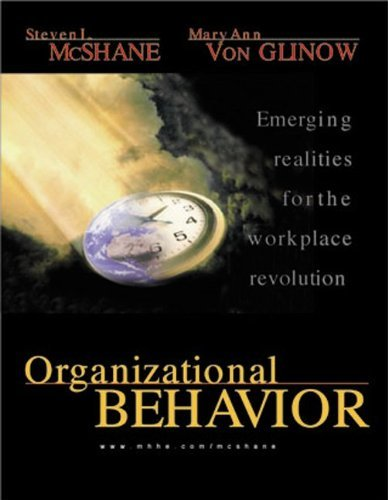 9780070472433: Organizational Behavior :Emerging Realities for the Workplace Revolution