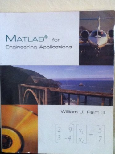 9780070473300: Matlab for Engineering Applications