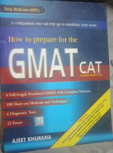 9780070473614: How to Prepare for the GMAT CAT (Computer Adaptive Test)