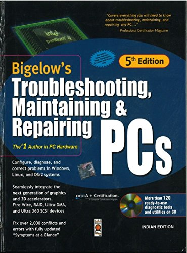 9780070473676: Troubleshooting, Maintaining & Repairing PCs, with CD 5ED