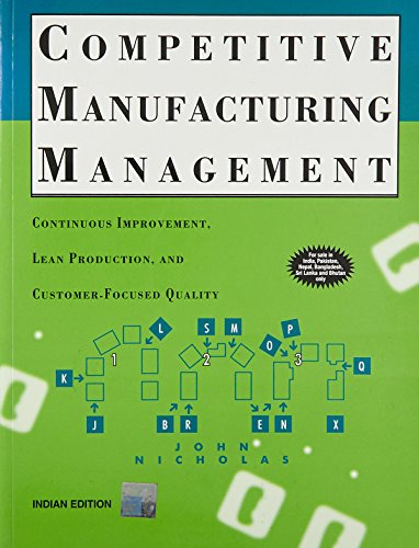 9780070474154: Competitive Manufacturing Management
