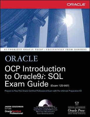 9780070474208: Oracle OCP Introduction to Oracle 9i: SQL Exam Guide 1ZO­007
