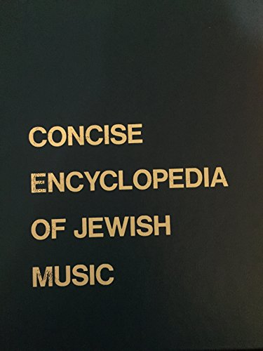 9780070475465: Concise Encyclopedia of Jewish Music