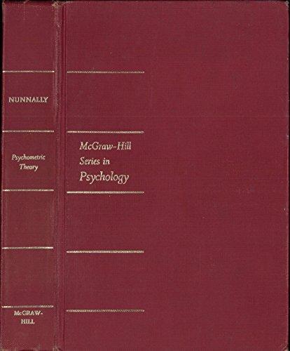 9780070475625: Psychometric Theory