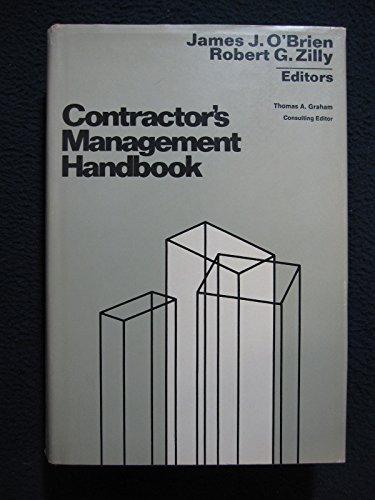 Contractor's Management Handbook: O'Brien, James