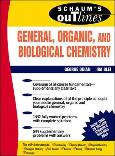 9780070476097: Schaum's Outline of General, Organic and Biological Chemistry (Schaum's Outline Series)