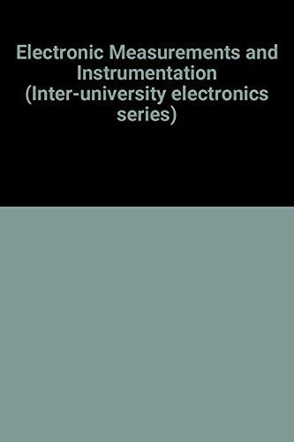 9780070476509: Electronic Measurements and Instrumentation (Inter-university electronics series)
