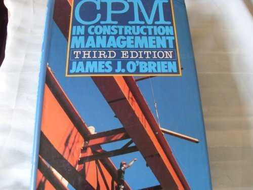 9780070476639: CPM in Construction Management