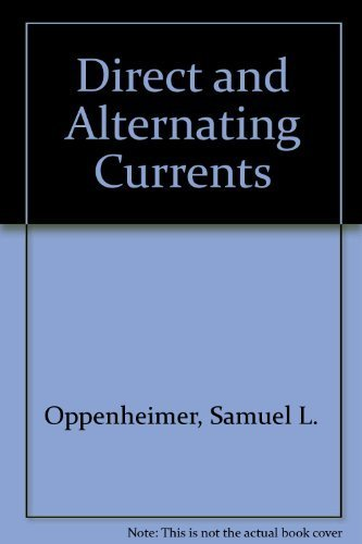 9780070476653: Direct and Alternating Currents