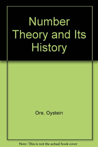 9780070476752: Number Theory and Its History