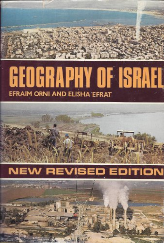 9780070477018: Geography of Israel