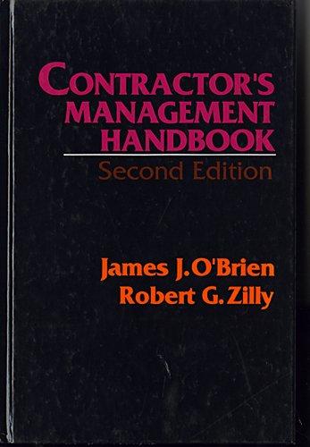 9780070477971: Contractor's Management Handbook